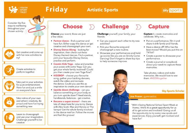 NSSW Humber Activities 2020 - FRIDAY